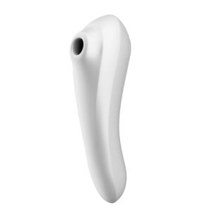 Estimulador Clitoris SATISFYER - Pulsador de ar Dual Pleasure Branco