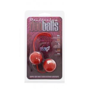 Bolas Chinesas Marbilized Duo Balls - Vermelho