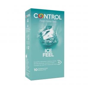 Preservativos CONTROL efeito frio  ICE FEEL 10 uni