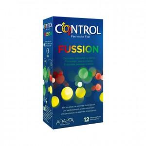 Caixa 12 Preservativos Fussion Control
