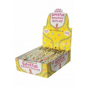 Colar Rebuçado Pénis Super Fun Penis Candy
