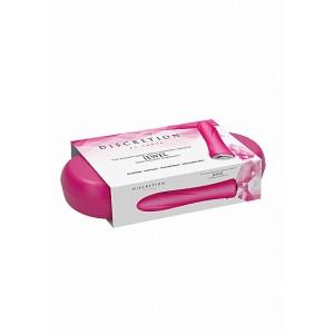 Vibrador Clássico Jewel c/ Caixa Recarregável Discretion Rosa