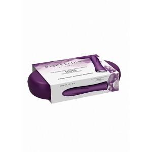 Vibrador Clássico Jewel c/ Caixa Recarregável Discretion Roxo