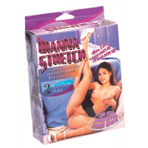 Boneca Insuflável Dianna Stretch; 1 perna no ar