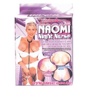 Boneca Insufl?vel Naomi com Uniforme de Enfermeira