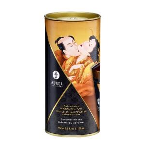 Óleo Massagem Afrodisiaco Beijos de Caramelo 100ml