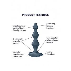 Plug anal Satisfyer Lolli-Plug 1 (dark teal)