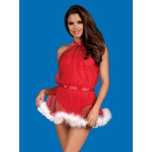 Vestido Santastic Vermelho S/M