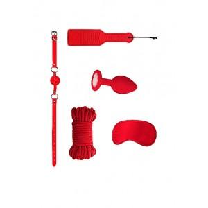 Kit Bondage Iniciante 5pcs Introductory #5 Ouch! Vermelho