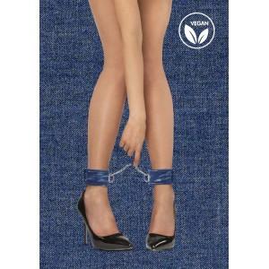 Algemas tornozelos estilo ganga azul