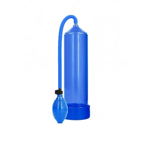 Bomba Vácuo Pénis Clássico Pumped Azul