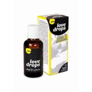 Love drops Homem eamp; Mulher - 30 ml